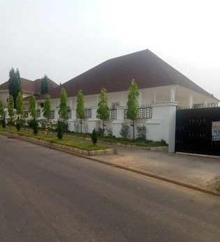 Estate at Asokoro With 1 Main 4 Bed..