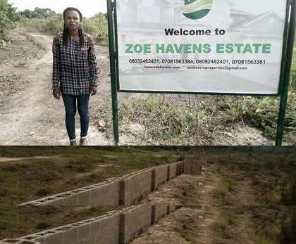 Zoe Havens Estate Located in Mowe O..