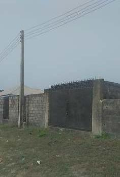 Fully fenced plot of land for sale