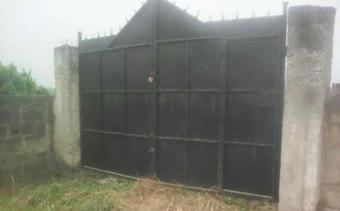 fenced 2 plots of land for sales in..