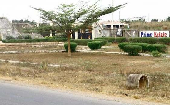 A plot of land for sale at prime es..